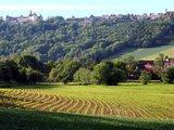 thumbnail - Schloss Langenburg hoch über dem Jagsttal gelegen..
