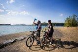 thumbnail - Fahrradfahrer am Möhnesee