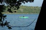 thumbnail - Am Wolgastsee können wir bei schönem Wetter auch baden oder eine Bootsfahrt machen.