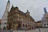 thumbnail - Das Rathaus in Rothenburg.