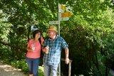thumbnail - Wanderer auf dem Homburg-Steig