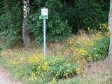 thumbnail - Hinweisschild am Wegesrand