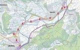 thumbnail - Umleitung Lahnradweg von Tiefenbach bis Löhnberg