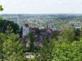 thumbnail - Ausblick vom Wanderweg auf Ravensburg
