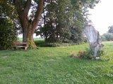 thumbnail - Naturkunstwerk: Holzskulptur des Erdinger Künstlers Fritz