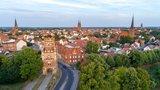 thumbnail - Stadtpanorama mit Blick auf das Uenglinger Tor