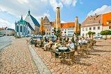 thumbnail - Untermarkt mit Dom St. Marien und Stadt- und Bergbaumuseum