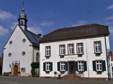 thumbnail - Rathaus und ev. Kirche Bornheim