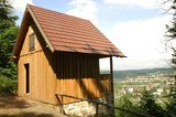 thumbnail - Die Schaubachhütte erinnert ebenso wie das Diezhäuschen an einen verdienten Meininger.