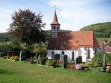 thumbnail - Kirche mit Fachwerk-Turm in Osternohe