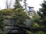 thumbnail - Vom Schlüsselpavillon auf dem Waldstein genießen wir eine herrliche Aussicht.