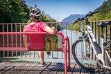 thumbnail - Radfahren an der Salzach