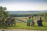 thumbnail - Rast im Hügelland der Hallertau