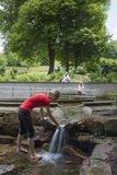 thumbnail - Barrierefreie Wassertretanlage Mespelbrunn