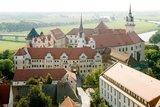 thumbnail - Blick auf Schloss Hartenfels Torgau und die Elbe