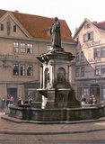 thumbnail - Lutherbrunnen um 1900 - Nordhausen