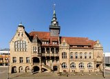 thumbnail - Marktplatz Bückeburg mit Rathaus