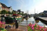 thumbnail - Alter Hafen in Weener bei den Törfwiefkes