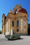 thumbnail - Ellwangen_Schönenbergkirche_Ostseite mit Mariensäule im Vordergrund