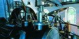 thumbnail - Schwergewichtig: Mit solchen Dampfmaschinen wurden auch die Förderkörbe im Schacht bewegt.