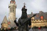 thumbnail - Karlsbrunnen vor dem Rathaus