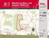 "thumbnail - TERRA.track Düingberg – Schautafel am Naturpark-Wanderparkplatz ""Am Düingberg"" in Melle"