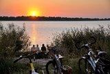 thumbnail - Traumhafter Sonnenuntergang an der Elbe