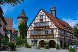 thumbnail - Rathaus mit Schimmelturm Niederstetten