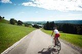 thumbnail - Unterwegs mit dem Rennrad am Niedersonthofener See