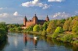 thumbnail - Aschaffenburg - Schloss Johannisburg mit Mainufer