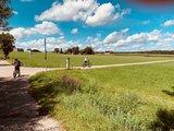 thumbnail - Der Günztal-Radweg führt durch das westliche Günztal.