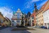 thumbnail - Marktplatz Eisleben mit Lutherdenkmal