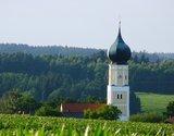 thumbnail - Blick auf die Kirche St. Jakob der Ältere in Hainberg