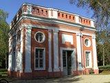 thumbnail - Der hübsche Pavillon beinhaltet eine kostenfreie Ausstellung.