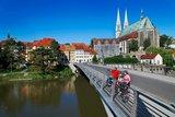 thumbnail - Altstadtbrücke mit Blick auf Peterskirche, Görlitz