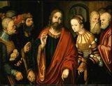 thumbnail - Fränkische Galerie Kronach, Christus und die Ehebrecherin