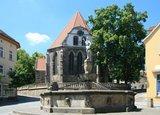 thumbnail - Johann-Sebastian-Bach-Kirche mit Hopfenbrunnen - Arnstadt