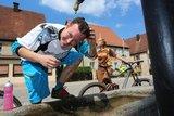 thumbnail - Erfrischung am Trinkwasserbrunnen Ottensoos