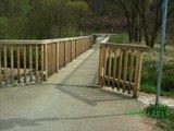 thumbnail - Brücke am Radweg kurz vor/hinter Otterbach