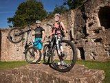 thumbnail - Biker auf Burg Gräfenstein