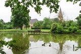 thumbnail - Teich im Garten der Klosteranlage Herzebrock