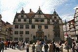 thumbnail - Rathausvorplatz beim Glockenspiel