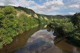 thumbnail - Werra bei Ebenau von der Radwegbrücke