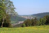 thumbnail - Blick auf Steinbach-Hallenberg vom Knüllfeld