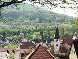 thumbnail - Blick auf die Gemeinde Happurg mit Kirche
