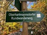 thumbnail - Markierung Wanderweg Oberhartmannsdorf