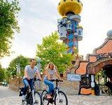 thumbnail - Radeln auf der Turm-Tour rund um Abensberg im Hopfenland Hallertau