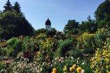 thumbnail - Companile mit Blumen auf der Fraueninsel