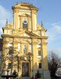 thumbnail - Auf unserem Weg liegen sehenswerte Kulturdenkmäler wie diese Kirche.