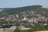 thumbnail - Blick vom Lämmertsberg zurück auf Grünsfeld